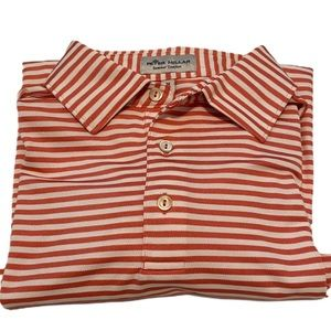 Like new Peter Millar summer comfort striped polo